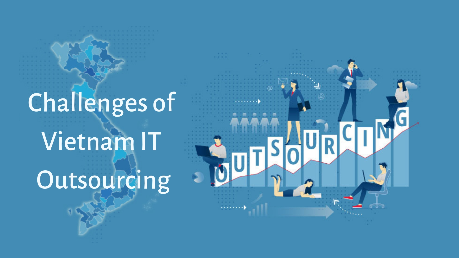 What are the challenges of IT outsourcing that Vietnam has to deal with?