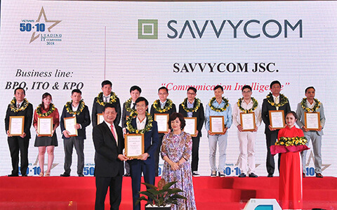 Savvycom listed in Vietnam's 50 Leading IT Company 2018