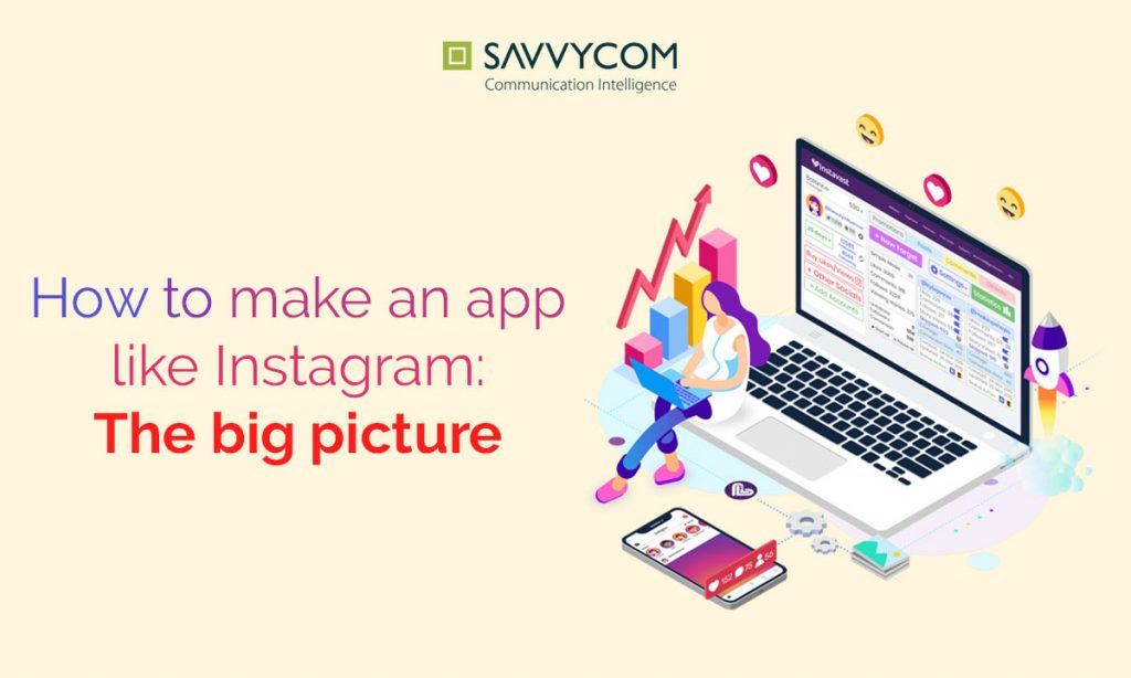 how to make an app like instagram the big picture