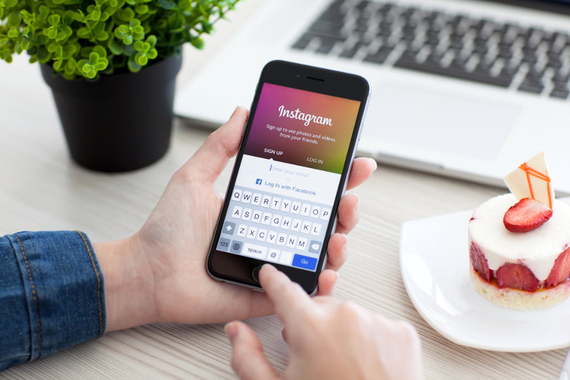 Instagram offers users a couple of choices to have an account authorized