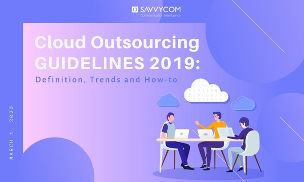 loud Outsourcing Guidelines 2019