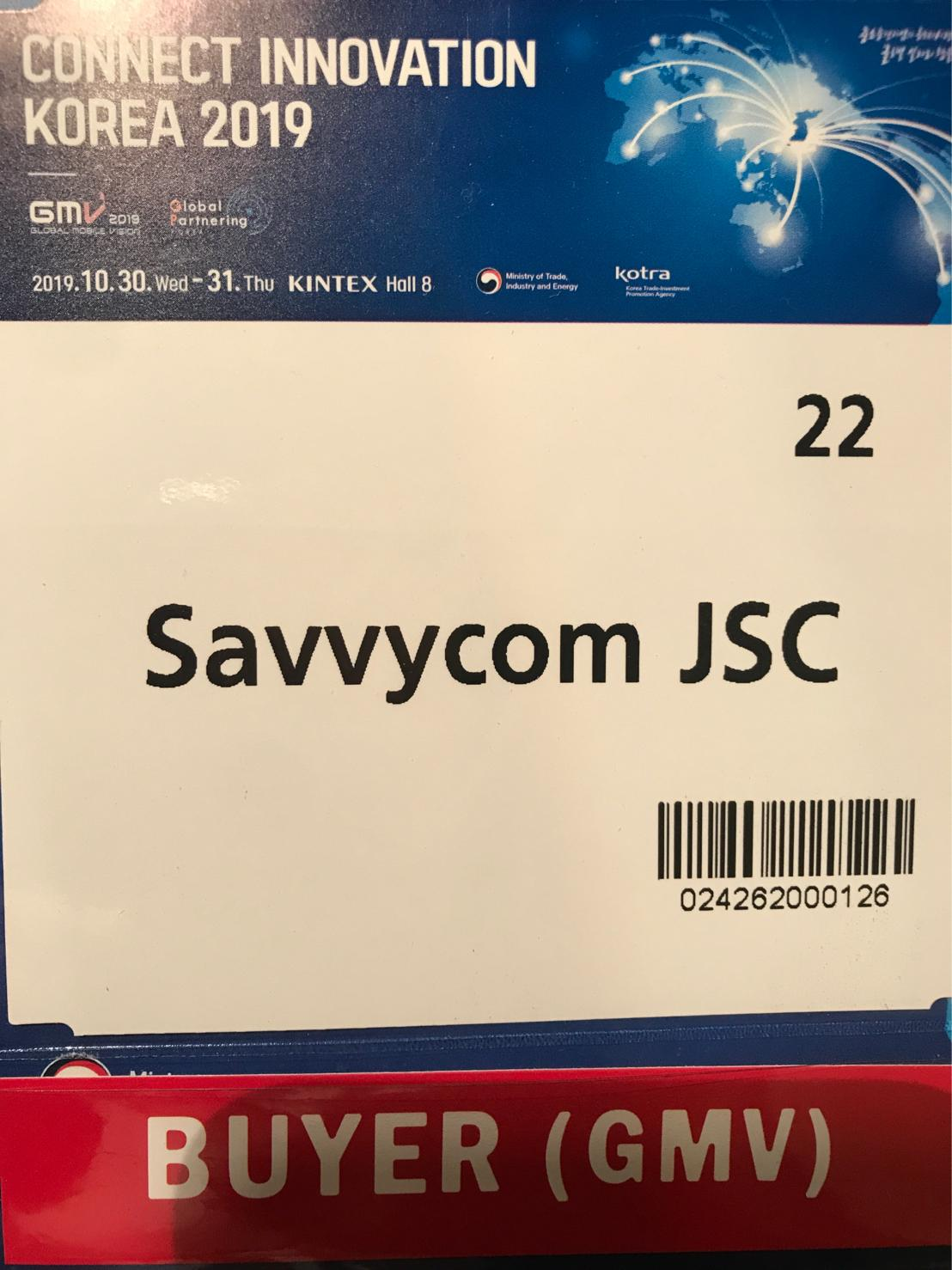 Savvycom Connect Innovation Korea