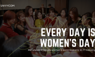 From Savvycom to all women in tech: Everyday is women's day