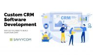 Custom CRM Software Development: Why Build Your Own CRM?